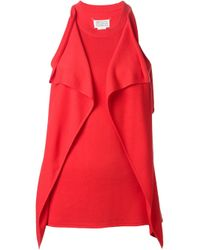 Maison Margiela | Red Blouse | Lyst