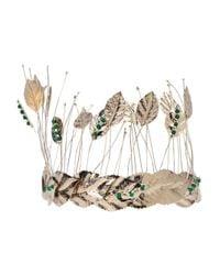 Rosantica - Green 'pocahontas' Leaf Head Band - Lyst