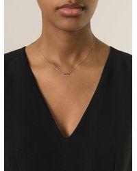 La Brune Et La Blonde | Metallic Pampille Necklace | Lyst