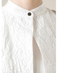 Mary Katrantzou - White 'alphabet' Top - Lyst
