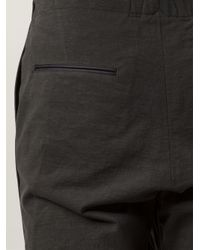 Rag & Bone - Gray Piped 'marsdon' Trousers for Men - Lyst