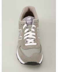 New Balance - Gray '574' Sneakers - Lyst