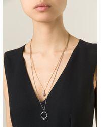 Puro Iosselliani - Blue Multi Chain Necklace - Lyst