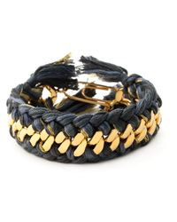 Aurelie Bidermann | Metallic 'do Brasil' Bracelet | Lyst