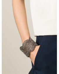 Aurelie Bidermann | Gray 'vintage Lace' Cuff | Lyst