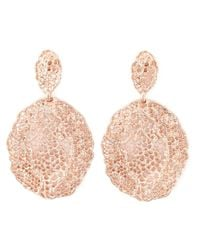 Aurelie Bidermann | Metallic 'vintage Lace' Earrings | Lyst