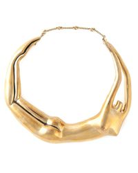 Aurelie Bidermann | Metallic 'body' Necklace | Lyst