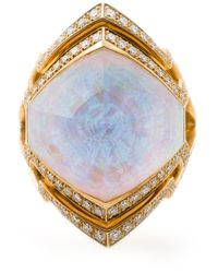 Stephen Webster | Metallic Small 'crystal Haze' Ring | Lyst