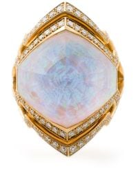 Stephen Webster   Metallic Small 'crystal Haze' Ring   Lyst