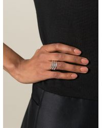 Maria Black - Metallic Trinity Ring - Lyst