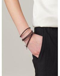 Shaun Leane - Brown 'signature Tusk' Wrap Bracelet - Lyst