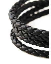 Shaun Leane - Black 'signature Tusk' Wrap Bracelet - Lyst