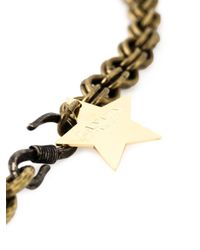 Lanvin - Metallic Star Detail Necklace - Lyst