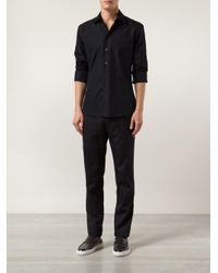 Maison Margiela - Black Straight Cargo Trousers for Men - Lyst