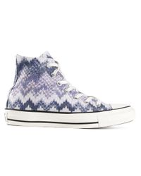 Converse   White - X Missoni 'chuck Taylor All Star' Sneakers - Unisex - Cotton/rubber - 41   Lyst