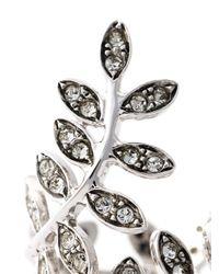 Ca&Lou - Metallic 'anne' Leaf Ring - Lyst