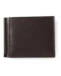 Valextra | Brown 'simple Grip Spring' Wallet for Men | Lyst
