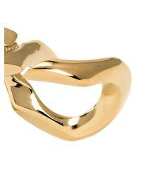 Annelise Michelson - Metallic 'déchainée' Double Ring - Lyst