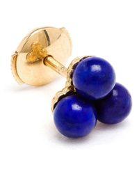 Yvonne Léon - Blue Yvonne Léon 18kt Gold And Lapis 'trilogie' Stud Earring - Lyst