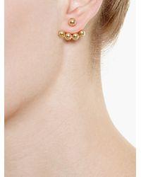 Yvonne Léon - Metallic Yvonne Léon 18kt Gold Stud Earring - Lyst