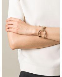 Lara Bohinc - Metallic 'schumacher' Double Bracelet - Lyst