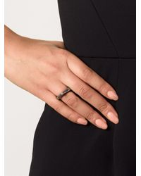 Rosa Maria - Gray 'kirsten' Diamond Ring - Lyst