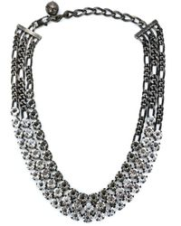 Lanvin | Metallic 'kristin' Necklace | Lyst