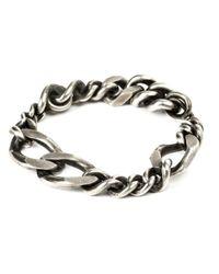 Werkstatt:münchen - Metallic Werkstatt:münchen Curb Chain Bracelet - Lyst