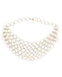 Melissa Joy Manning | Metallic Circle Link Collar Necklace | Lyst