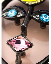 Lanvin   Metallic 'xandra' Necklace   Lyst