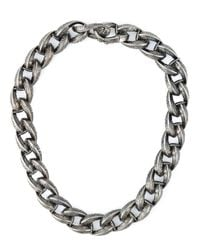 Garrard | Black Feather Chunky Chain Necklace | Lyst