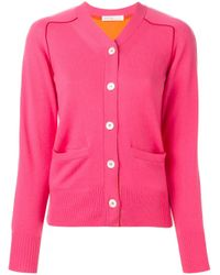Sacai Luck | Pink Two Tone Cardigan | Lyst