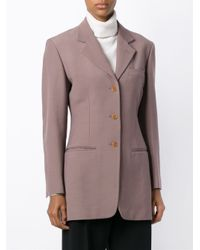 Romeo Gigli - Blue Three Button Blazer - Lyst