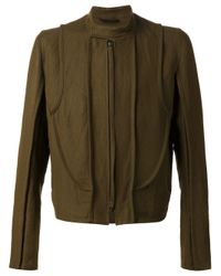 Ann Demeulemeester | Natural Exposed Seam Jacket for Men | Lyst