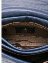 Lanvin - Blue 'sugar' Shoulder Bag - Lyst
