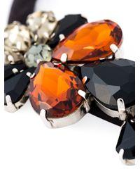 Marni | Black Embellished Necklace | Lyst
