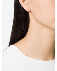 Selin Kent - Black 'charlotte' Diamond Earring - Lyst