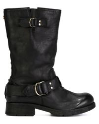 DIESEL - Black 'freewheel' Boots - Lyst