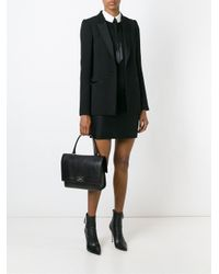 Givenchy - Black Small 'shark' Tote - Lyst