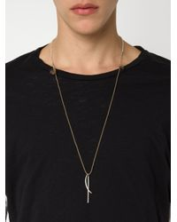 1-100 - Brown Rope Necklace - Lyst
