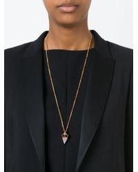 Vita Fede - Black 'thea Stone' Necklace - Lyst