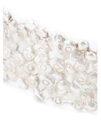 Natasha Collis | Metallic Small Cobbled Cuff | Lyst