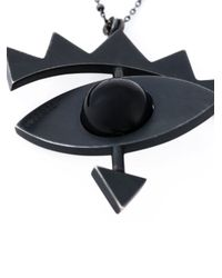 Katrine Kristensen | Black 'big Eye' Necklace | Lyst