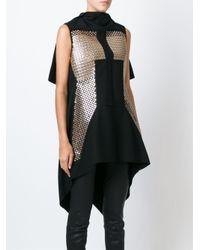Rick Owens - Black - Sequinned Mini Dress - Women - Polyamide/polyester/cupro/virgin Wool - 40 - Lyst