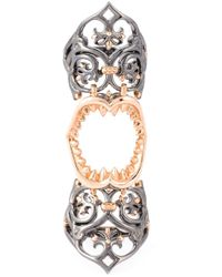 Stephen Webster | Metallic 'les Dents De La Mer' Long Finger Ring | Lyst