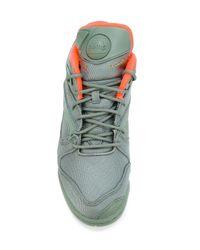 Reebok - Green 'court Victory Pump Tech' Sneakers for Men - Lyst