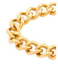 Tory Burch - Metallic Chunky Chain Bracelet - Lyst