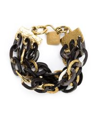 Ashley Pittman | Metallic 'tatu' Bracelet | Lyst