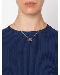 Kimberly Mcdonald - Metallic Geode And Diamond Pendant Necklace - Lyst