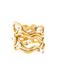 Aurelie Bidermann | Metallic 'cheyne Walk' Wire Ring | Lyst